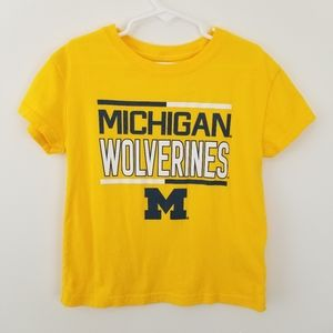 2 Gen Boys Michigan Wolverines T-Shirt